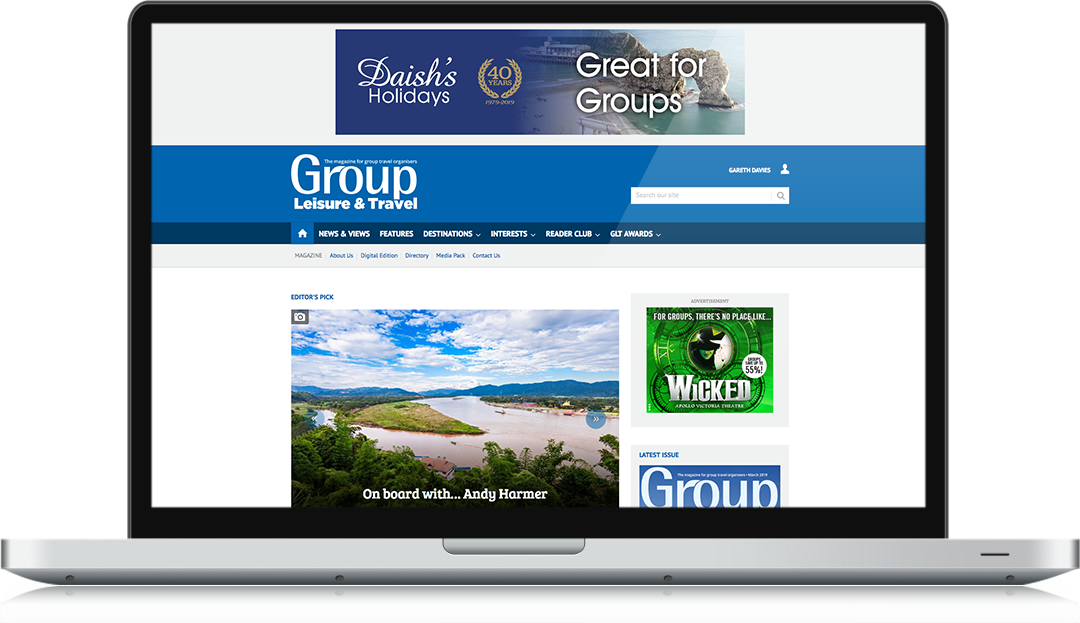 groupleisure.com homepage