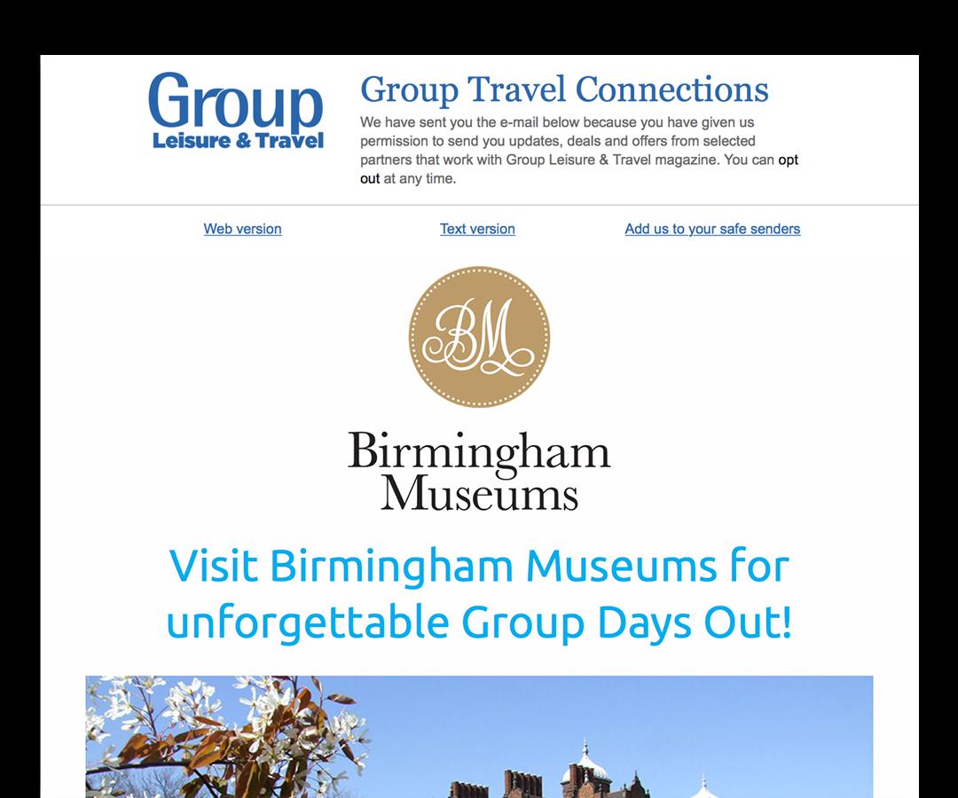 Birmingham Museum e-broadcast