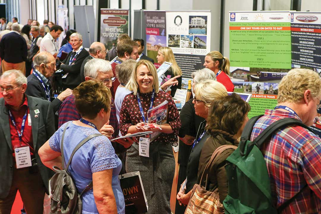 A busy Group Leisure & Travel Show