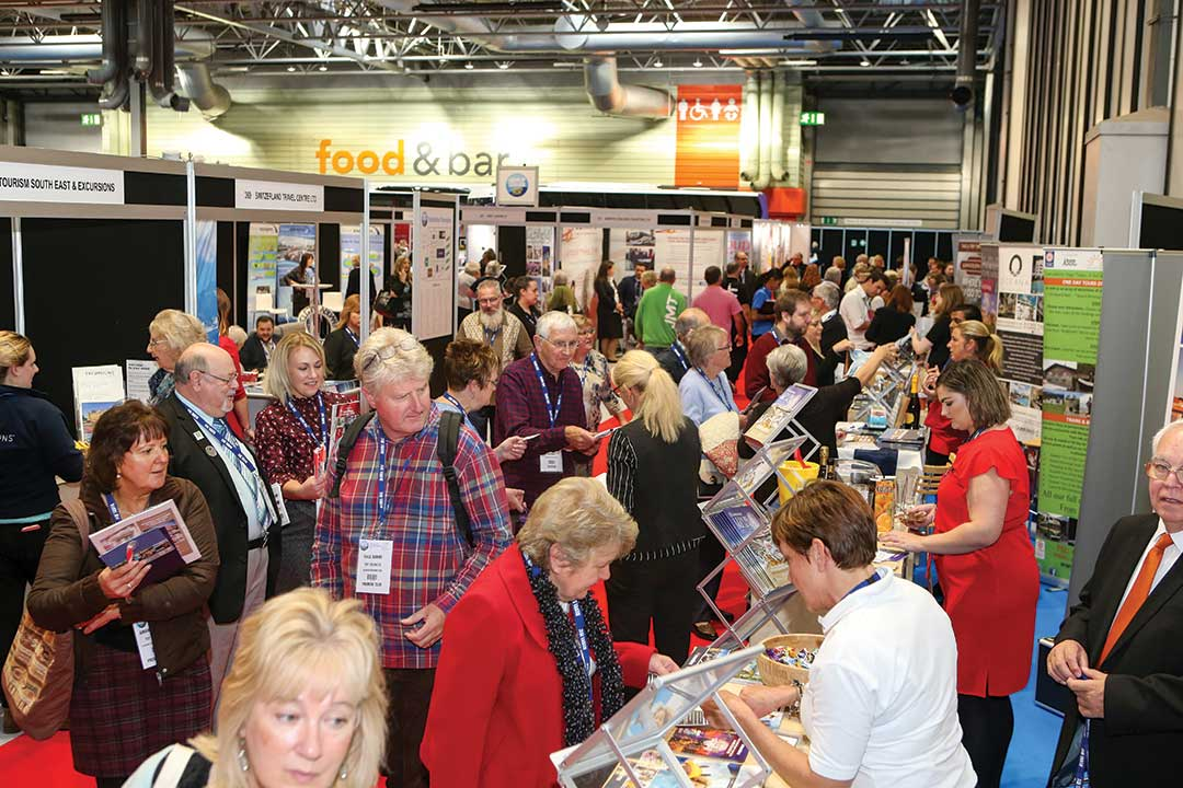 Busy aisles at the GLTS