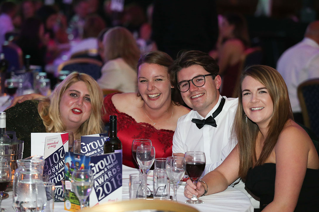 Fun at the Group Leisure Awards