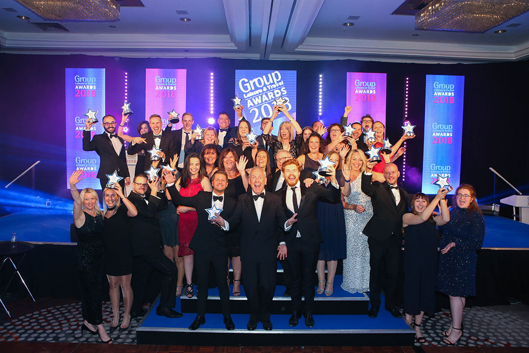 The 2016 Group Leisure Award winners