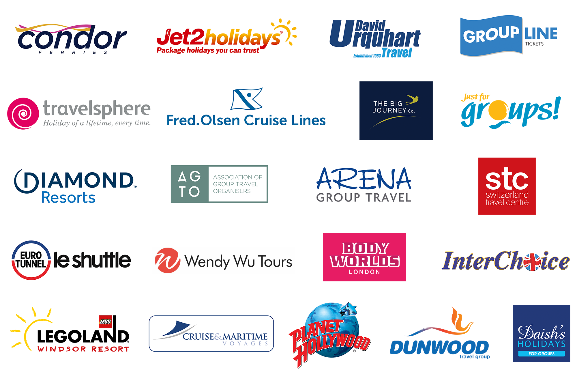 Group Leisure & Travel Awards Partners 2019